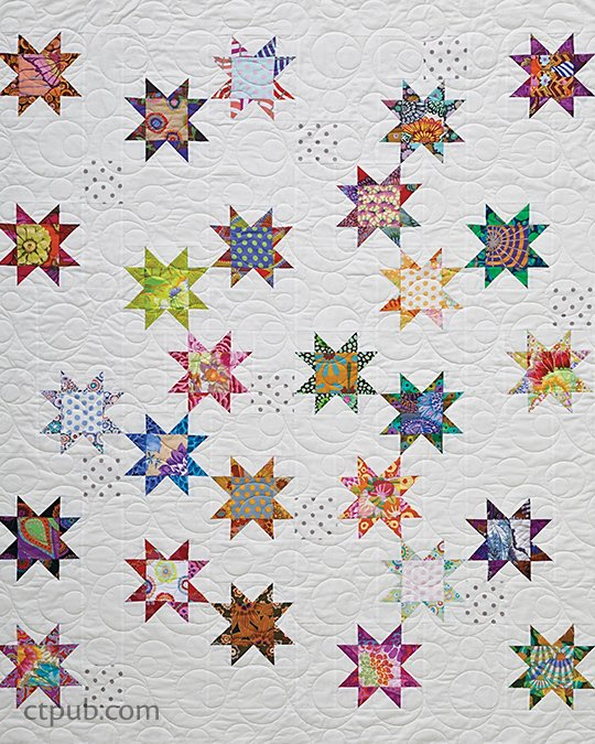 Free Tutorial Seeing Stars Quilt By Alex Anderson