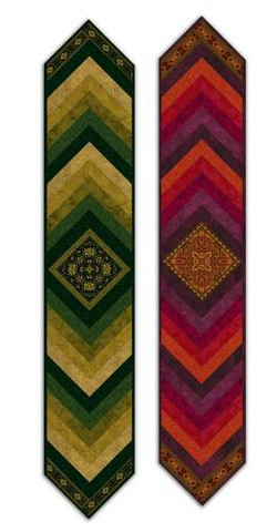 Medallion Table Runner Jinny Beyer