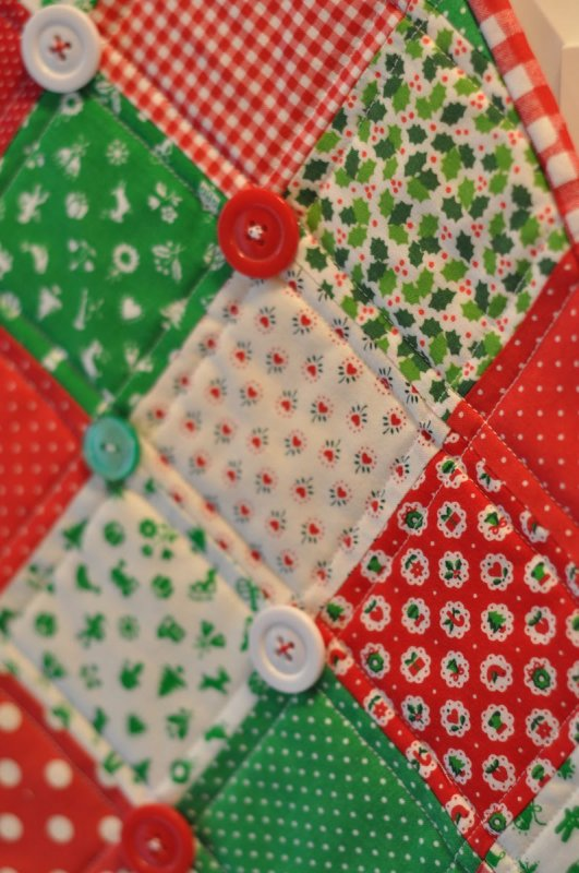 Free Tutorial Vintage Christmas Tree Wall Hanging By
